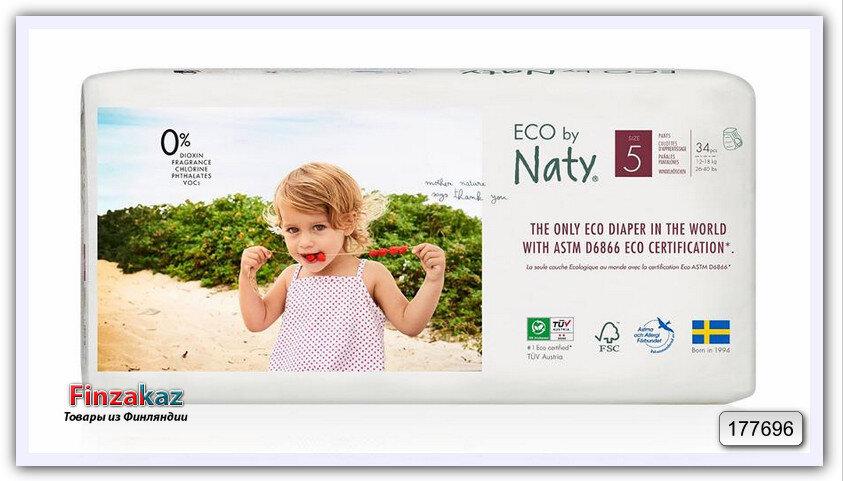 Подгузники eco by naty