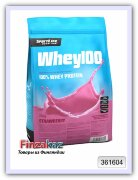 Протеин Whey100 SportLife Nutrition клубника 700 г