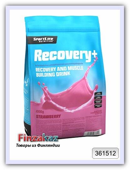 Восстанавливающий напиток клубничный Recovery+ SportLife Nutrition 1 кг