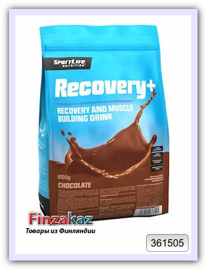 Восстанавливающий напиток Recovery+ шоколад SportLife Nutrition 1 кг