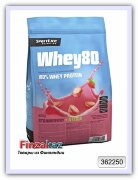 Протеин Whey80 SportLife Nutrition клубника 600 г