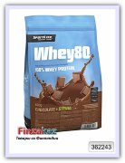 Протеин Whey80 SportLife Nutrition шоколад 600 г