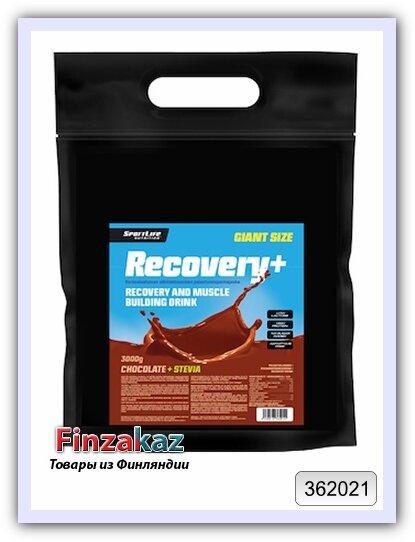 Восстанавливающий напиток Recovery+ шоколад SportLife Nutrition 3 кг