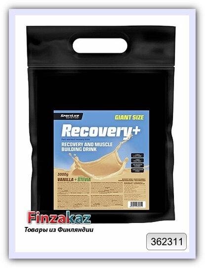 Восстанавливающий напиток Recovery+ ваниль SportLife Nutrition 3 кг