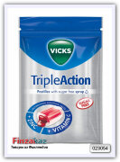 Vicks Triple Action Z+C 72 гр