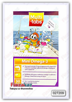 Витамины Multi-tabs Mini Omega - 3 30 шт