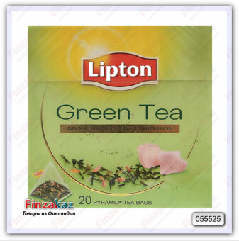 Чай Lipton Green Tea Indonesian 20 шт