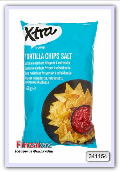 Чипсы X-traTortilla chips 450 гр