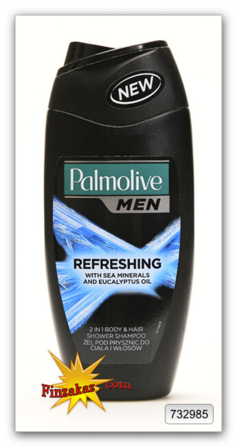 "Гель для душа и шампунь Palmolive Men ""Refreshing"" 250 мл"