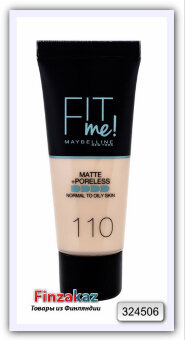 Тональный крем Maybelline Fit Me Matte & Poreless 30мл