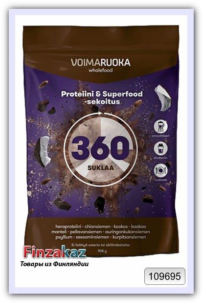 Протеиновая смесь Voimaruoka 360 с шоколадом 908 г
