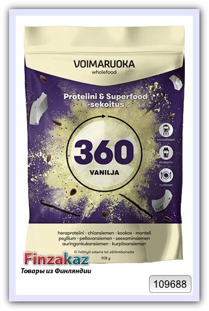 Протеиновая смесь Voimaruoka 360 с ванилью 908 г