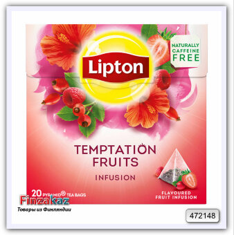 Чай Lipton Temptation Summer Fruits 20 шт