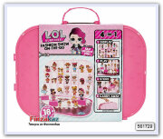 Футляр для хранения и игровой набор L.O.L. Surprise! Fashion Show On-the-Go Storage and Playset - Light Pink