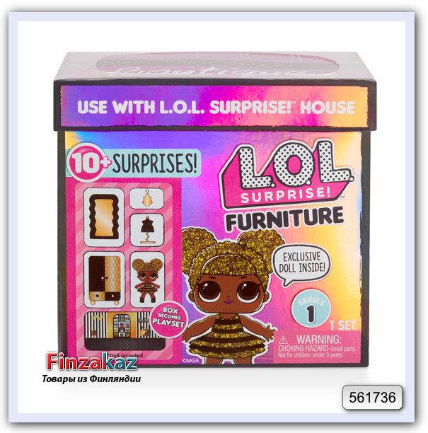 L O L Surprise Furniture коробочка сюрпризов с мебелью и куклой