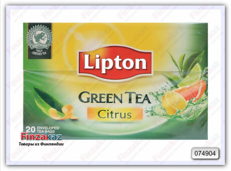 Чай Lipton Green Tea Citrus 20 шт